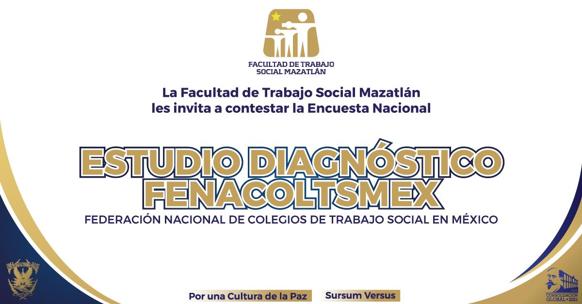 Estudio Diagnóstico de la Federación Nacional de Colegios de Trabajo Social en México